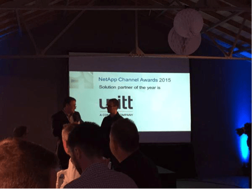 Unitt - NetApp Channel Award 2015