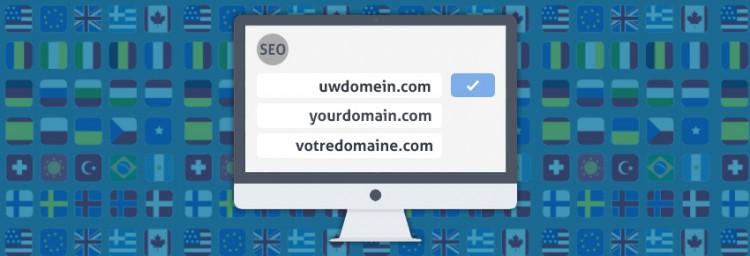 Google SEO taal website adres