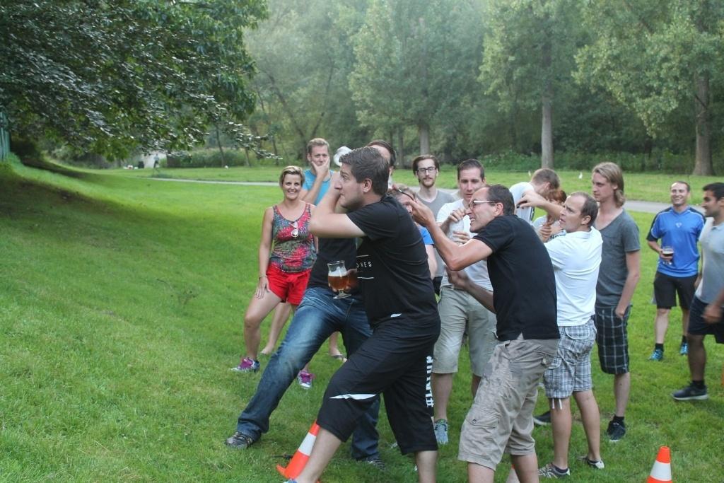 Combell teambuilding waterkanon finalespel