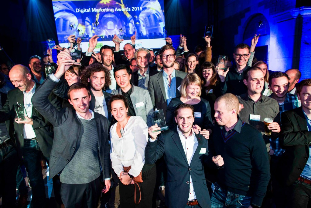 Digital Marketing Awards 2015 winnaars