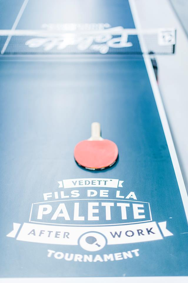 Fils de la palette pingpong 2e editie