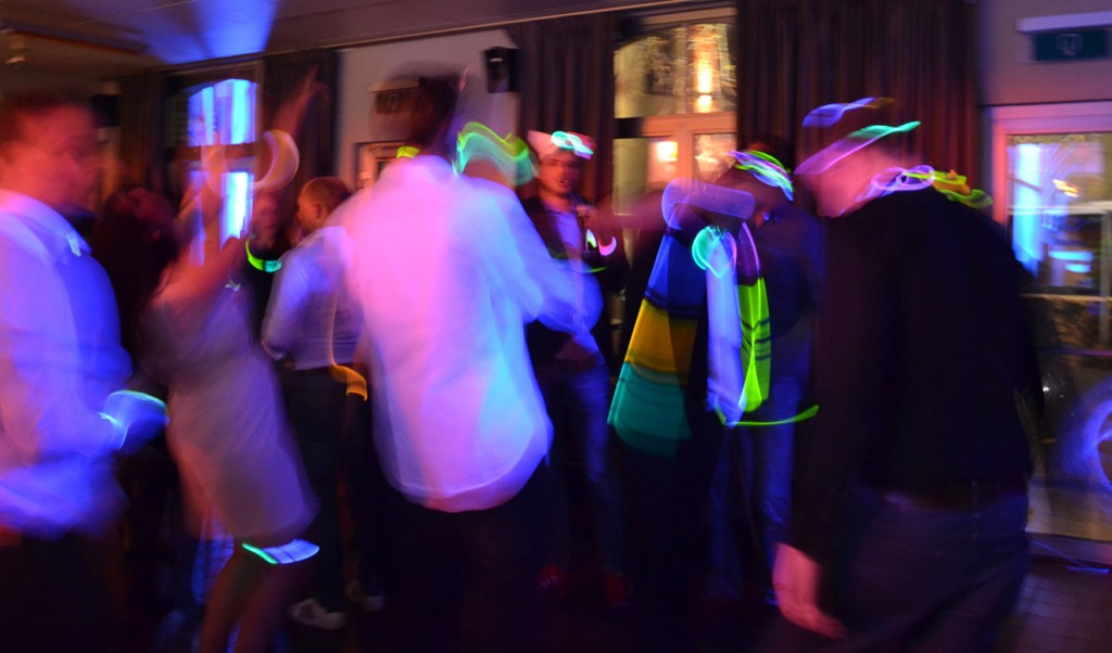 Combell new year glow in the dark party