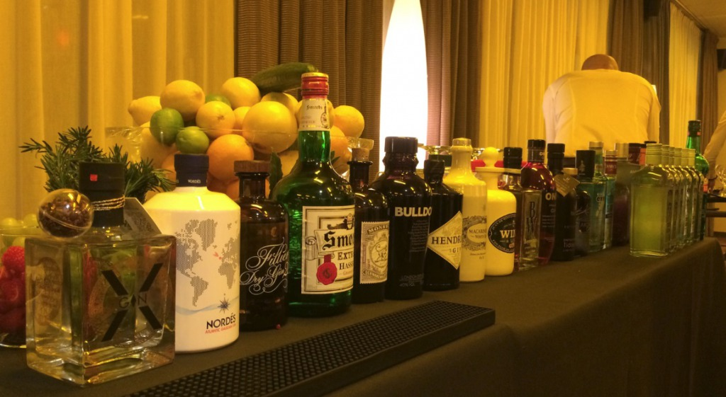 Combell new year party gin tasting