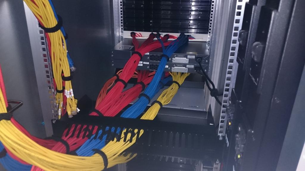 Gestructureerde bekabeling in het datacenter