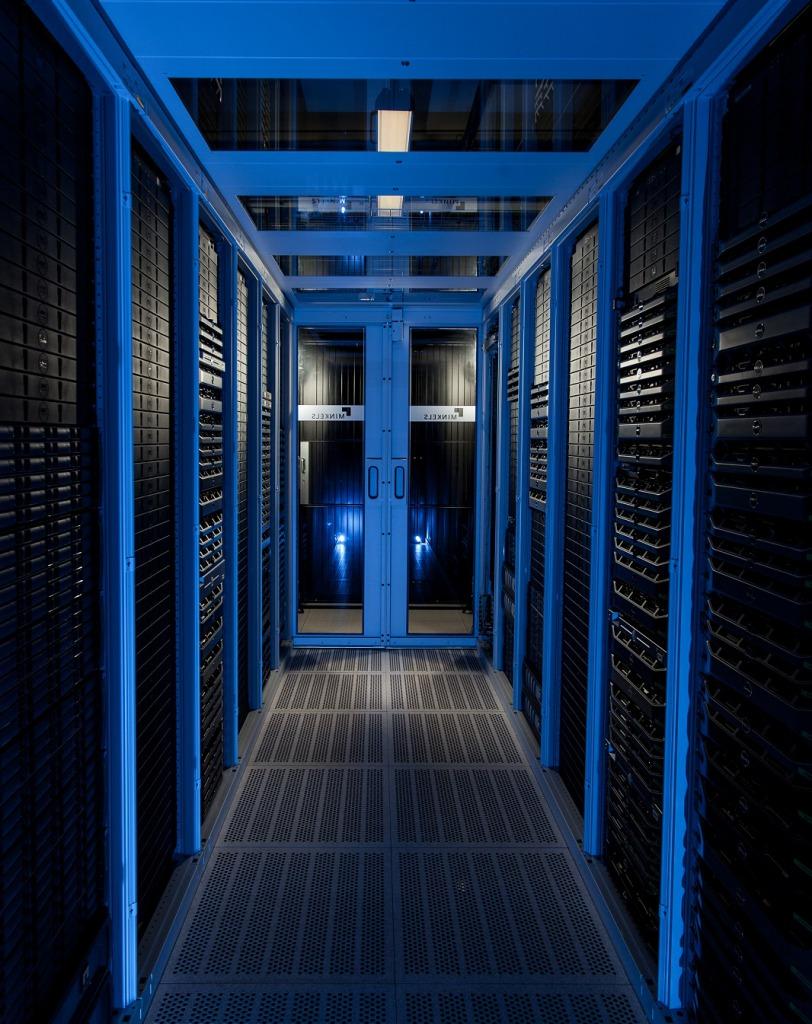 Minkels Cold Corridor in het datacenter