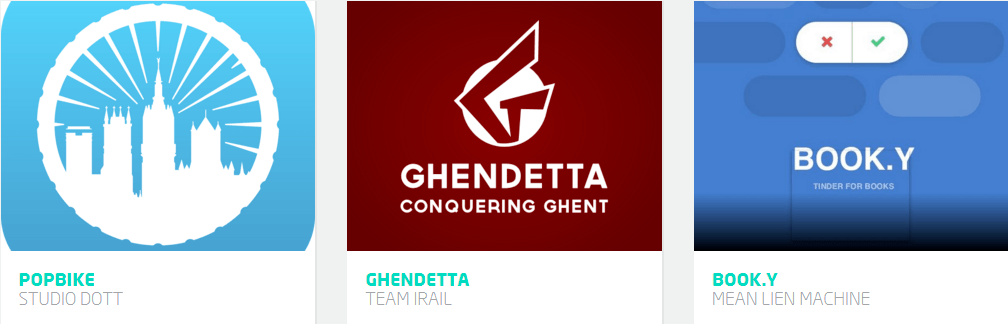 Showcases Apps for Ghent