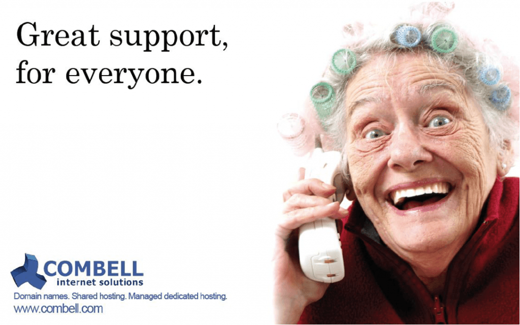 Combell great support for everyone