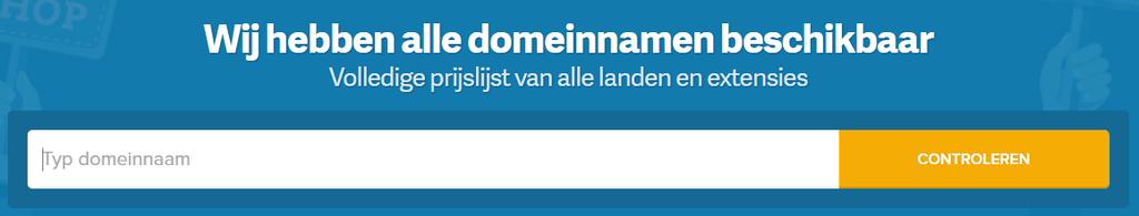 Nieuwe bestelervaring Combell - domeinnaamzoeker