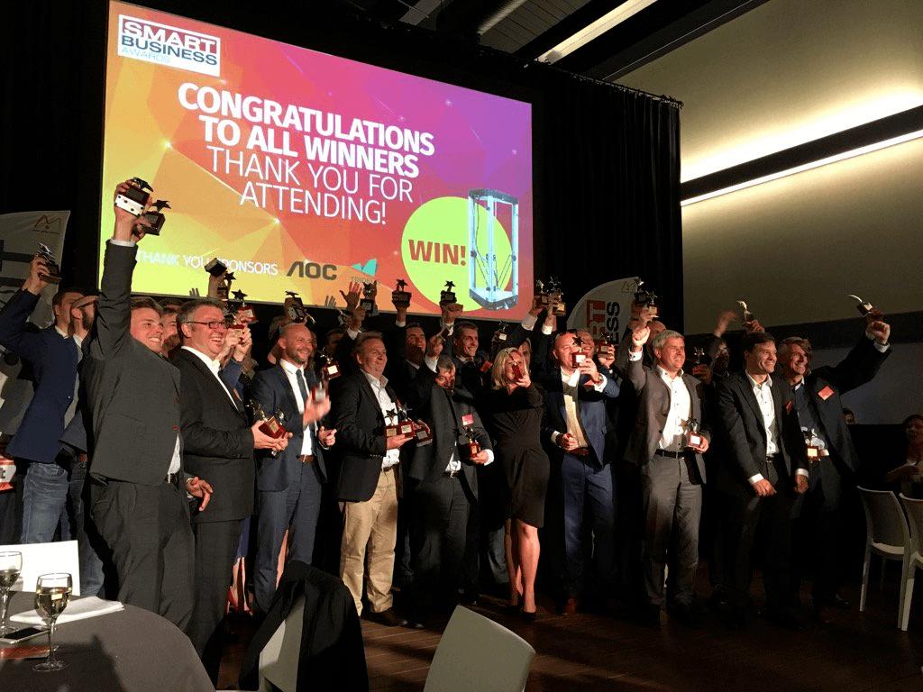 Smart Business Award 2016 winners