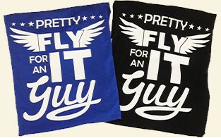 Pretty fly for an IT guy T-shirt