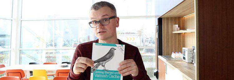 Thijs Feryn brengt boek over Varnish cache uit