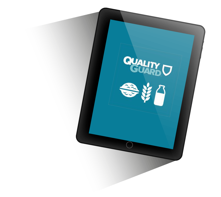 IoT-app Quality Guard op iPad