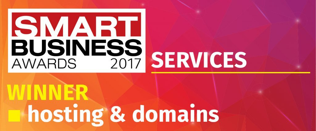 Smart Business Award winner Hosting & domains