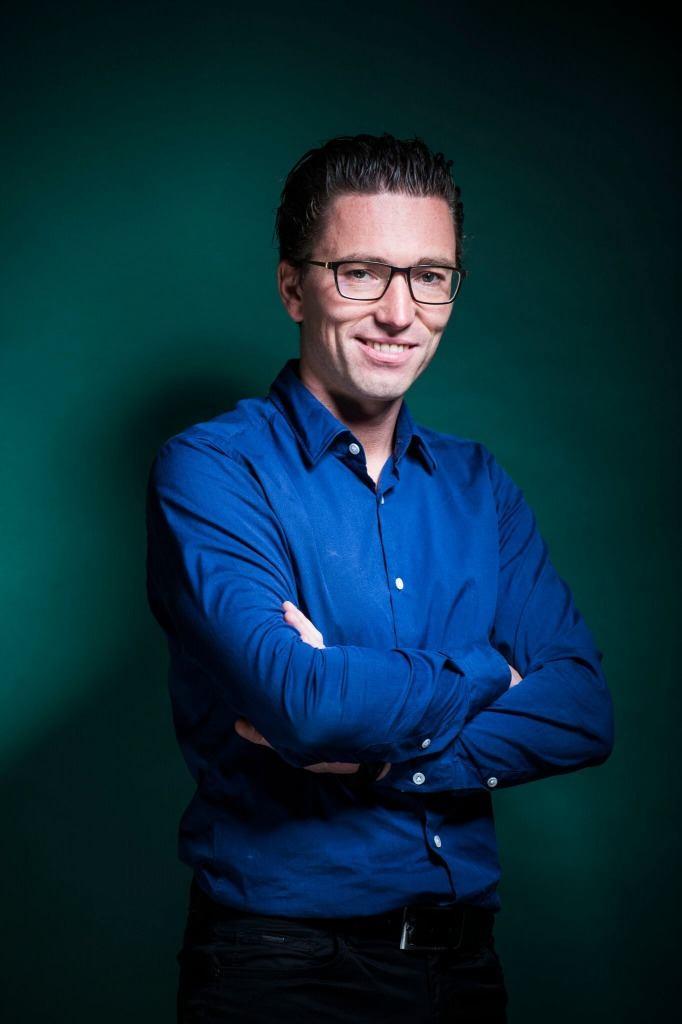 Jonas Dhaenens oprichter Combell