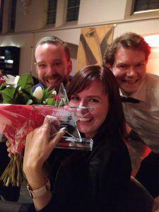 Combell wint de Twinkle Award voor Hosting en Domain