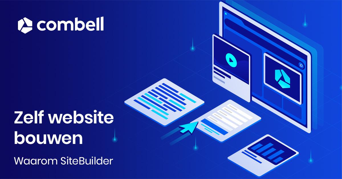7 redenen om zelf een website te maken met SiteBuilder