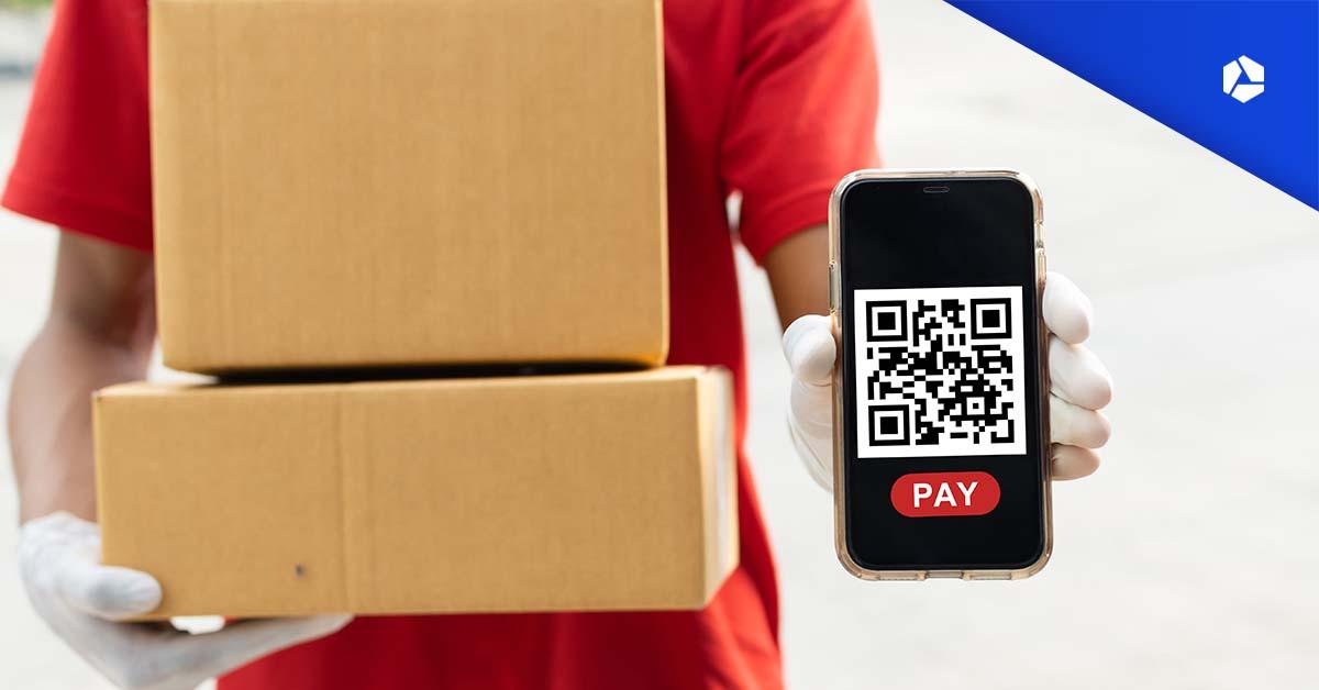 Een QR-code op je website is een mogelijke betaalmethode