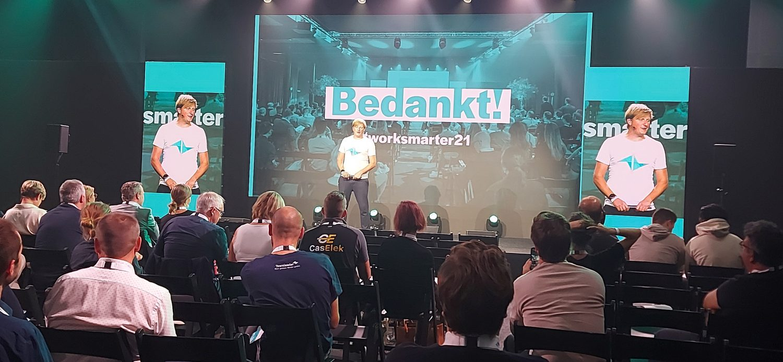 CEO Jeroen De Wit van Teamleader op Work Smarter