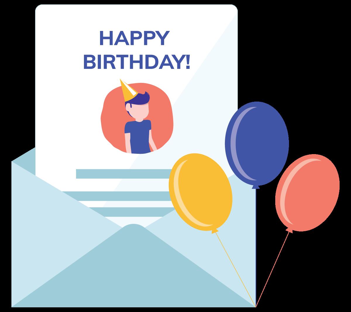 Feliciteer je klanten via Flexmail