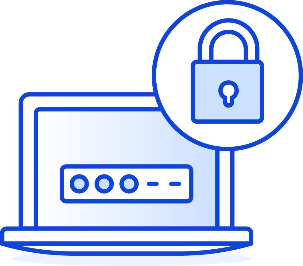 Je thuiswerkplek beveiligen met goede wachtwoorden