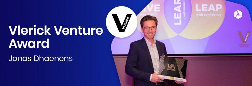 Jonas wint Vlerick Venture Award