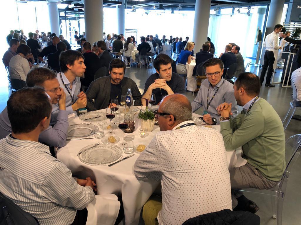 Lunch met Jonas op het Work Smarter event