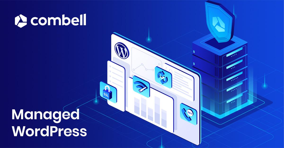 Managed WordPress bij Combell
