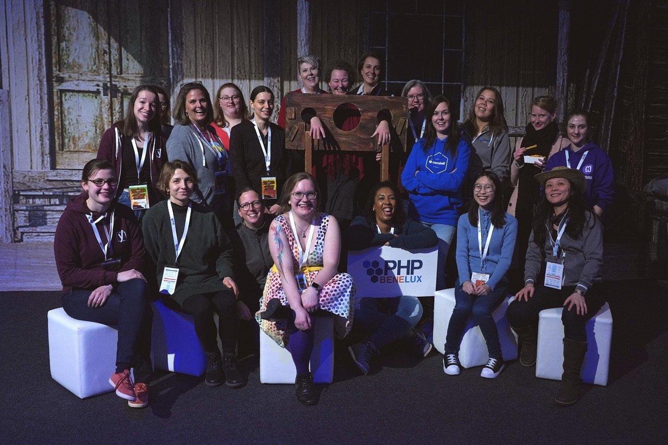 De vrouwen op PHPBenelux Conference