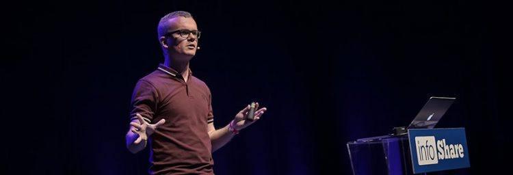 Thijs Feryn Combell evangelist geeft 200e presentatie