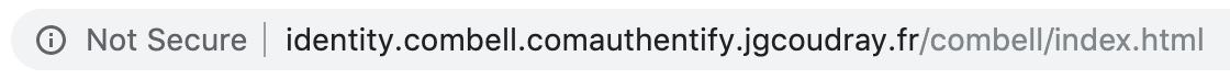 Url phishing