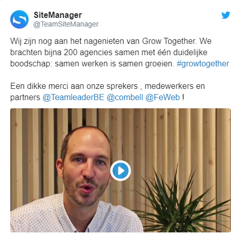 Video SiteManager Grow Together