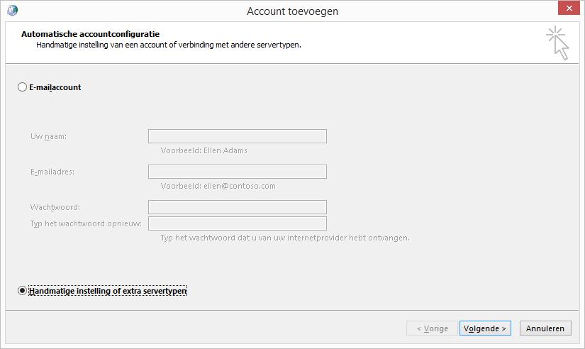 e-mail configureren