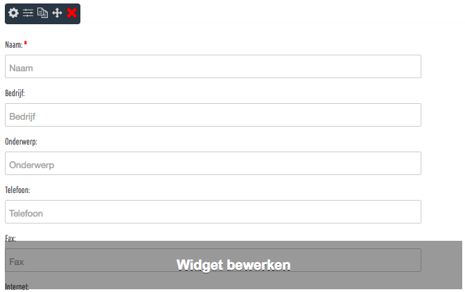 Contactformulier NL
