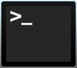 terminal of een commandoprompt