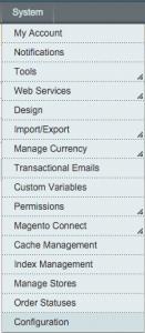 Systeem >> Configuratie