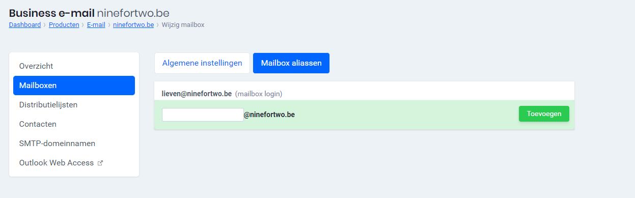 E-Mailadressen